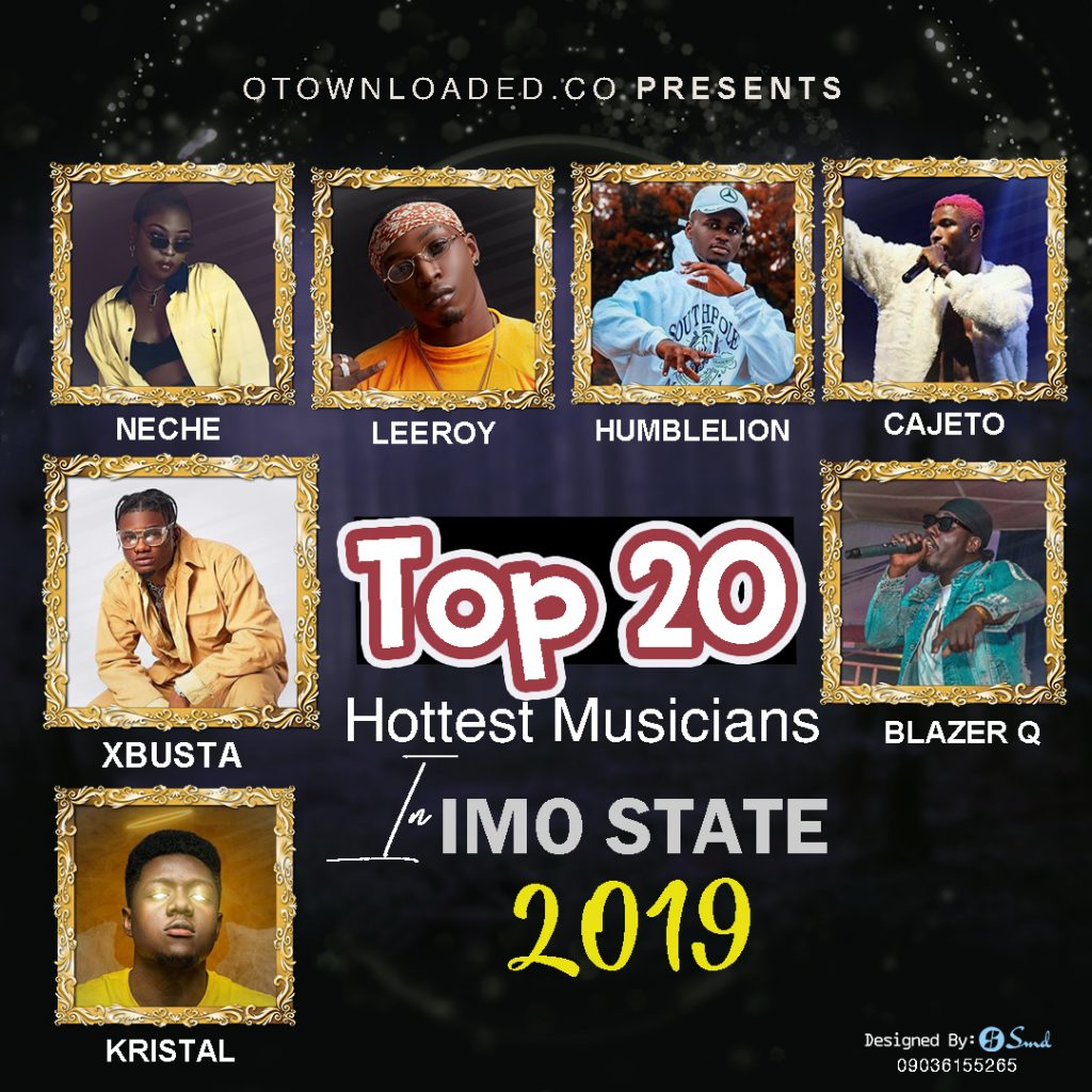 List of Top 20 Hottest Musician In Imo State