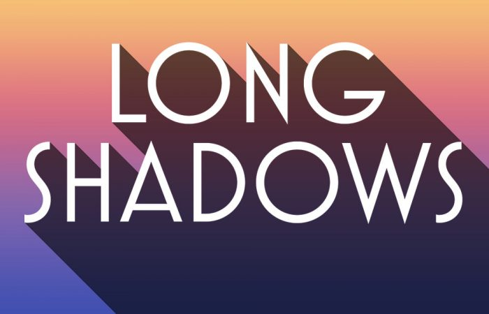 Create a Long Shadow Text Effect with Photoshop