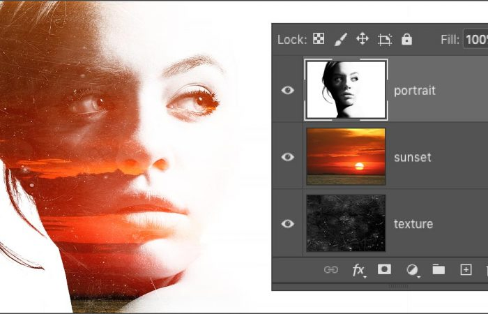 Open Multiple Images As Layers In Photoshop