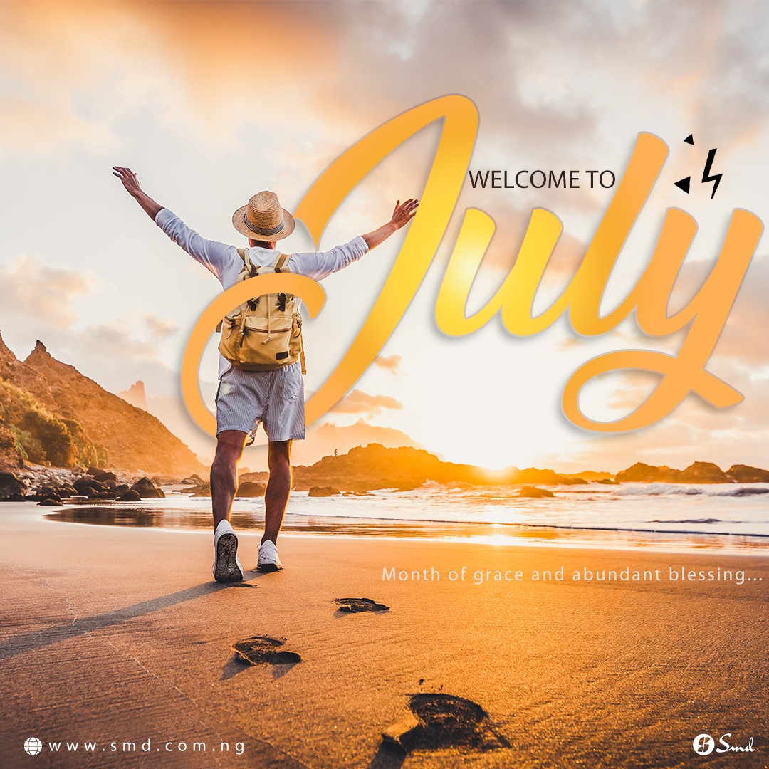 Happy New Month – July