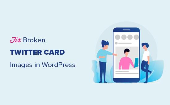 How to Fix Broken Twitter Card Images in WordPress